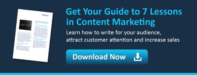 7 lessons in content marketing