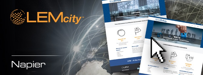 Image of LEM City Website case study