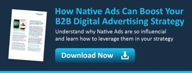 native ads for b2b digital white paper