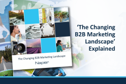 changing b2b marketing landscape ebook