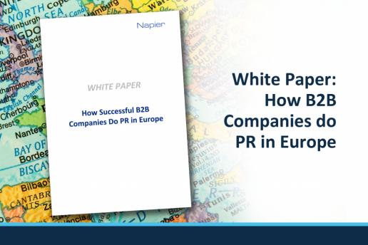 How B2B Companies do PR in Europe