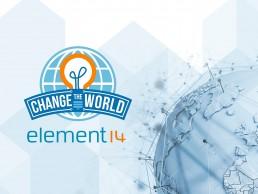 element14 change the world banner