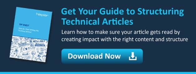 structuring technical articles white paper