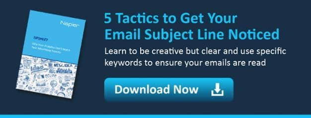 5 tactics to get your email subject line noticed