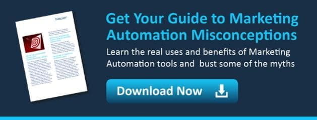 marketing automation misconceptions