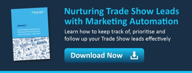 nurturing trade show leads with marketing automation